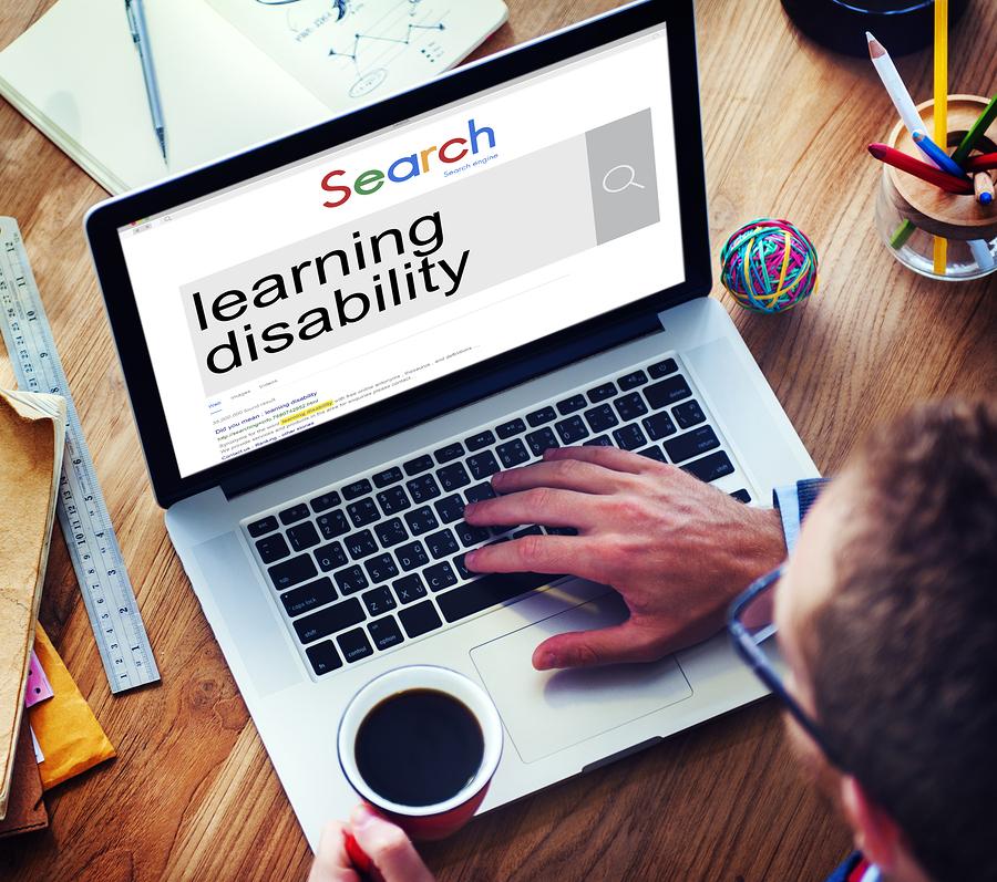 bigstock Businessman Learning Disability