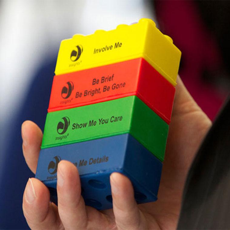 Insights Discovery colour bricks